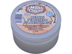 Βερνίκι γυαλιστερό Maxi Decor για decoupage  100ml