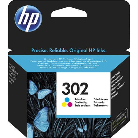 Μελάνι εκτυπωτή HP 302 Tri-colour F6U65AE