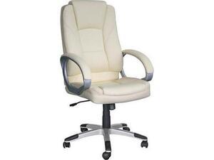 Πολυθρόνα γραφείου διευθυντή Ασπρο BF6950 [Ε-00014414] ΕΟ278,3 (Λευκό)