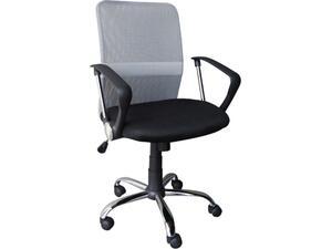 Kαρέκλα γραφείου BF2009 Mesh Γκρί- Μαύρο [Ε-00011721] ΕΟ516,1 (Γκρι)