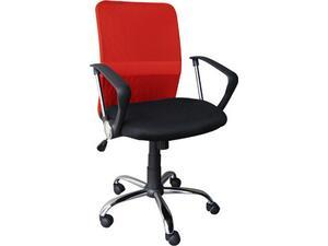 Kαρέκλα γραφείου Mesh Κόκκινο - Μαύρο BF2009[Ε-00014053] ΕΟ516,3 (Μαύρο)