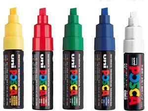Μαρκαδόρος posca pc-8k σε διάφορα χρώματα