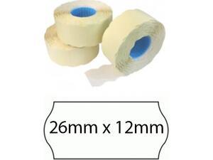Ετικέτες ετικετογράφου 26mm x 12mm (1 τεμάχιο)
