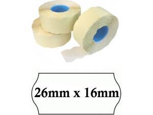 Ετικέτες ετικετογράφου 26mm x 16mm (1 τεμάχιο)