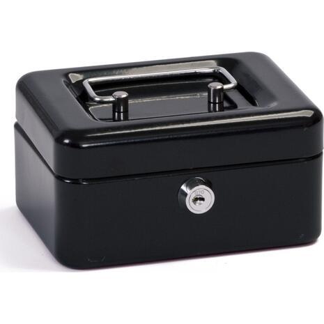 """Kουτί ταμειου μεταλλικό με κλειδαρια 6"""" 152x115x80cm (Μαύρο)"""