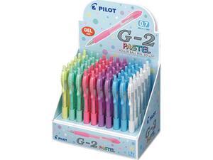 Στυλό Gel PILOT G-2 Παστέλ 0.7mm σε διάφορα χρώματα