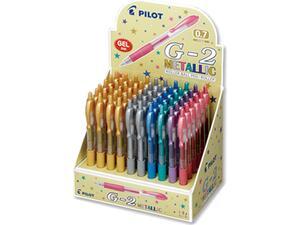 Στυλό Gel PILOT G-2 Μεταλλικό 0.7mm σε διάφορα χρώματα