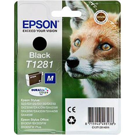 Μελάνι εκτυπωτή EPSON T1281 Black
