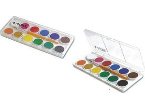 Νερομπογίες ADEL Φ24mm (12 χρωμάτων)
