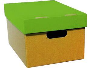 Κουτί αρχειοθέτησης από χαρτόνι Next Α4 με λαχανί καπάκι 23x32x18cm