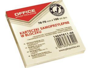 Αυτοκόλλητα χαρτάκια σημειώσεων OFFICE 76x76mm