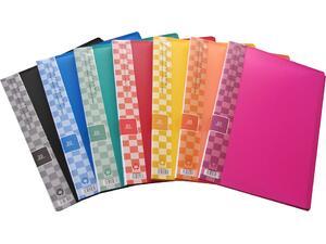 Ντοσιέ SUNFULL 20 διαφανείς θήκες display book σε διάφορα χρώματα