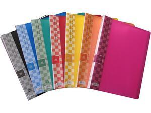 Ντοσιέ SUNFULL 50 διαφανείς θήκες display book σε διάφορα χρώματα