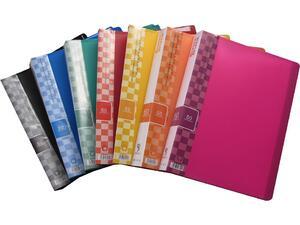 Ντοσιέ SUNFULL 60 διαφανείς θήκες display book σε διάφορα χρώματα