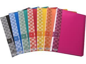 Ντοσιέ SUNFULL 30 διαφανείς θήκες display book σε διάφορα χρώματα