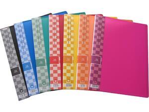Ντοσιέ SUNFULL 10 διαφανείς θήκες display book σε διάφορα χρώματα
