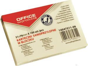 Αυτοκόλλητα χαρτάκια σημειώσεων OFFICE 51x76mm