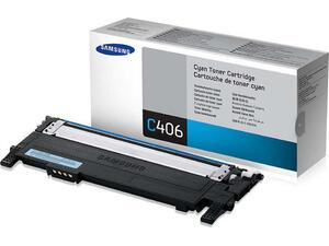 Toner εκτυπωτή SAMSUNG CLT-C406S Cyan CLP-360/365