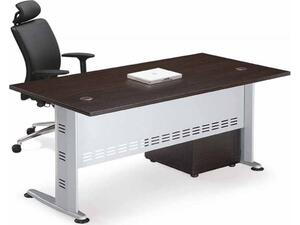 Γραφείο επαγγελματικής χρήσης Compact Γκρι/Wenge 180x80x75 (Wenge)