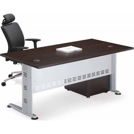 Γραφείο επαγγελματικής χρήσης Compact Γκρι/Wenge [Ε-00010558]150x80x75 (Wenge)