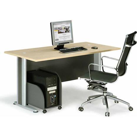 Γραφείο επαγγελματικής χρήσης Βasic 120x80x75 (EO996) (Καφέ)