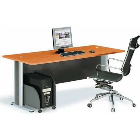 Γραφείο επαγγελματικής χρήσης Βasic 180x80x75 (Καφέ)
