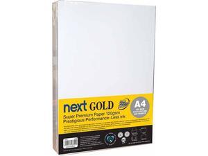 Χαρτί εκτύπωσης Next Gold Premium Α4 120gr 500 φύλλα