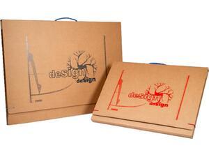 Τσάντα ΙΩΝΙΑ σχεδίου χάρτινη με χερούλι  Διαστάσεις: 50x70