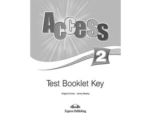 Access 2 Test book key