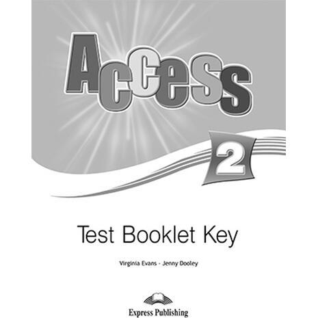 Access 2 Test book key