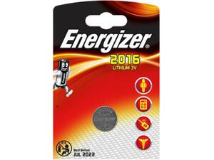 Αλκαλική μπαταρία ENERGIZER λιθίου CR2016 3V