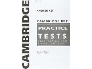Cambridge Preliminary Practice tests PET Answer Key