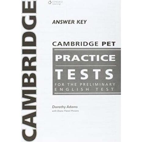 Cambridge Preliminary Practice tests PET Answer Key