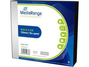 DVD-R 120΄ MediaRange 4.7GB 16x slimcase 1 τεμάχιο