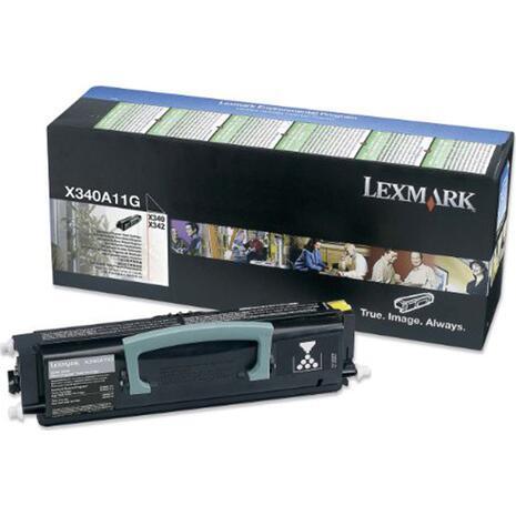 Toner εκτυπωτή LEXMARK X340A11G Black
