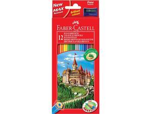 Ξυλομπογιές FABER - CASTELL  (12 τεμάχια)
