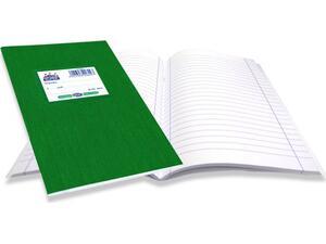 """Τετράδιο Skag """"SUPER ΔΙΕΘΝΕΣ"""" Ριγέ Σχέδιο Κλασσικό 50 Φύλλων 17x25 Πράσινο (Πράσινο)"""