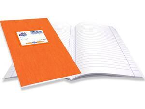 """Τετράδιο Skag """"SUPER ΔΙΕΘΝΕΣ"""" Ριγέ Σχέδιο Κλασσικό 50 Φύλλων 17x25 Πορτοκαλί (Πορτοκαλί)"""