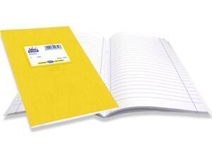 """Τετράδιο Skag """"SUPER ΔΙΕΘΝΕΣ"""" Ριγέ Σχέδιο Κλασσικό 50 Φύλλων 17x25 Κίτρινο (Κίτρινο)"""