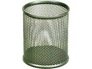Μολυβοθήκη Offix δίατρητη μεταλλική ασημί 9Χ10cm