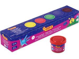 Δακτυλομπογιές Jovi colors 35ml (5 τεμάχια)
