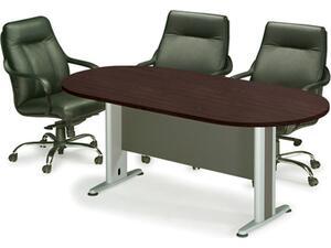 Τραπέζι συνεδρίου οβάλ Wenge (Ε-00013886, ΕΟ146,2) (Wenge)