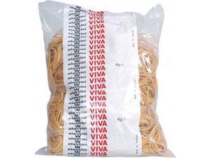 Λαστιχάκια Viva 1kg 125mm κίτρινα (1 σακούλα)