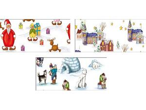 Χαρτί Ursus 50x68cm 300gr Winter Wonderland