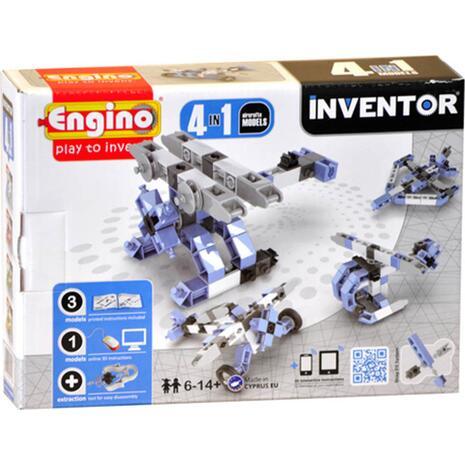 Engino Invertor 4 in 1 Models Aircrafts