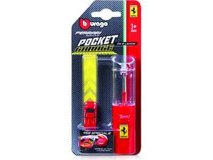 Αυτοκινητάκι Burago Ferrari Race & Play Pocket Garage