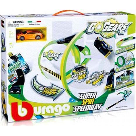 Σετ παιχνιδιού Burago Gogears Super Spin Speedway