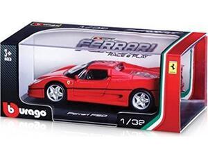 Αυτοκινητάκι Burago Ferrari Race & Play 1:32