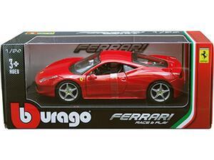 Αυτοκινητάκι Burago Ferrari 458 Italia 1:24