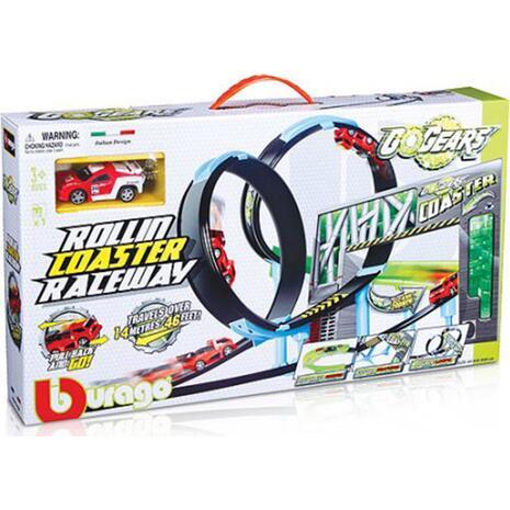 Σετ παιχνιδιού Burago Rollin΄Coaster Raceway